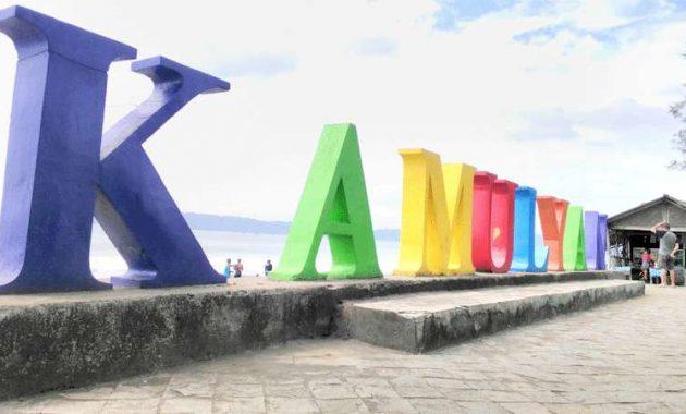 Pantai Kamulyan via Radarbanyumas