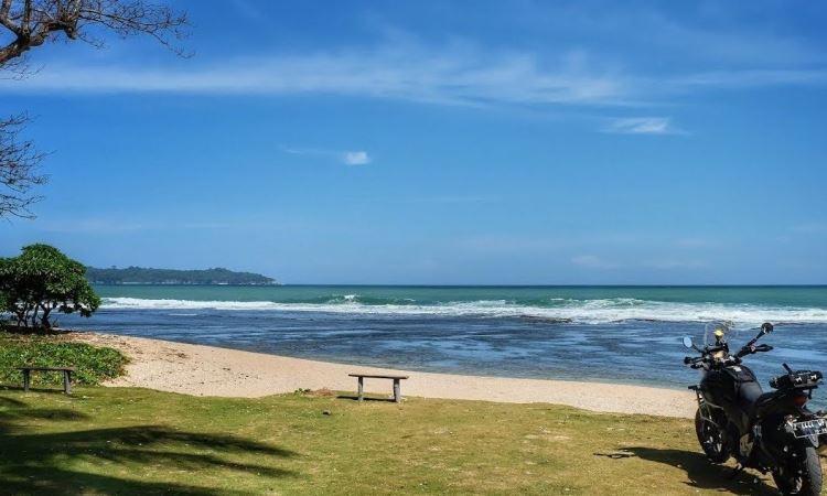Pantai Karapyak via Pikiran Rakyat