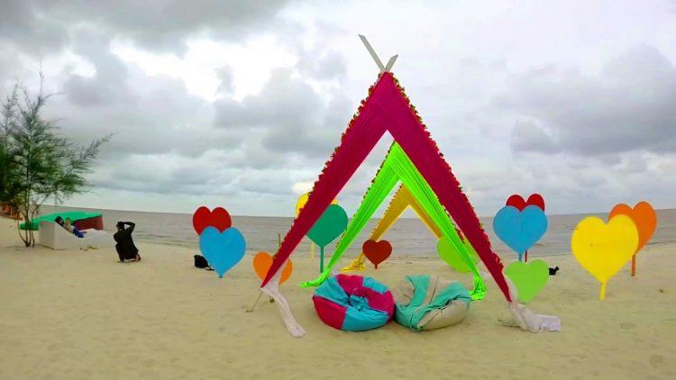 Pantai Romantis via Youtube
