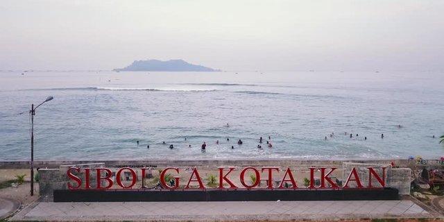 Pantai Sibolga Kota Ikan via Merdeka