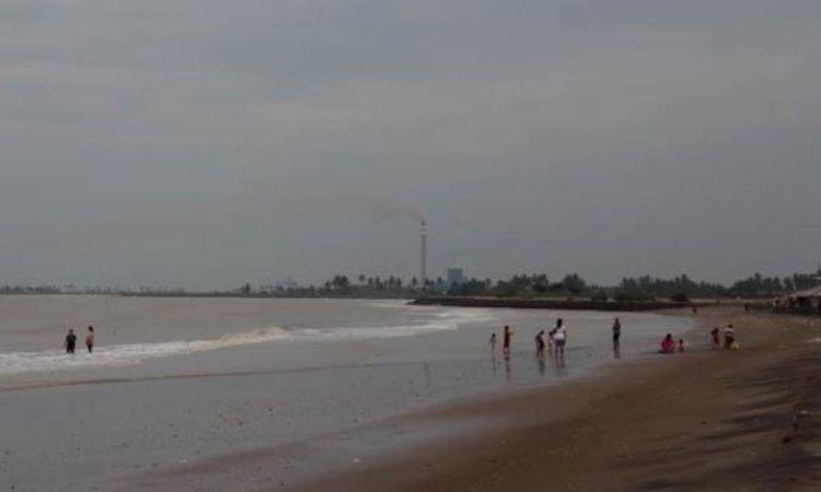 Pantai Trungtum Tanjung Pura via Kompasiana
