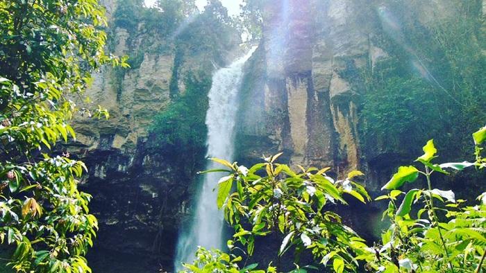 Air Terjun Putri Malu via Ig @fikri.ariwibowo