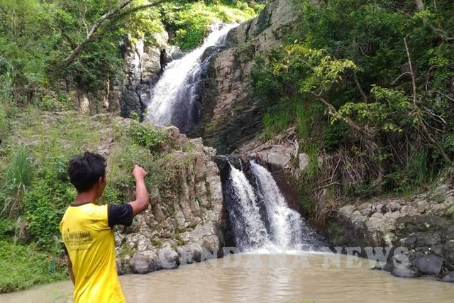 Air Terjun Tujuh Tingkat via cendananews