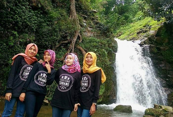 Curug Cisaladah via IG @mala_kasa