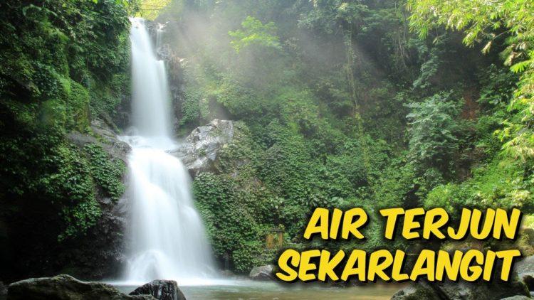 Air Terjun Sekar Langit via Youtube @Domo Bramantyo