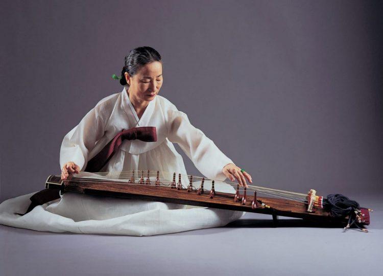 Alat Musik Tradisional Korea di Museum King Sejong via Blok-A