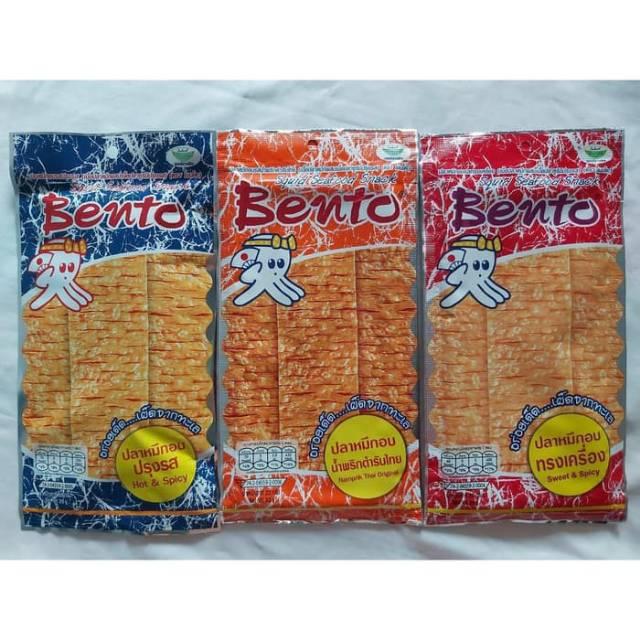 Bento Squid Seafood Snack via Shopee