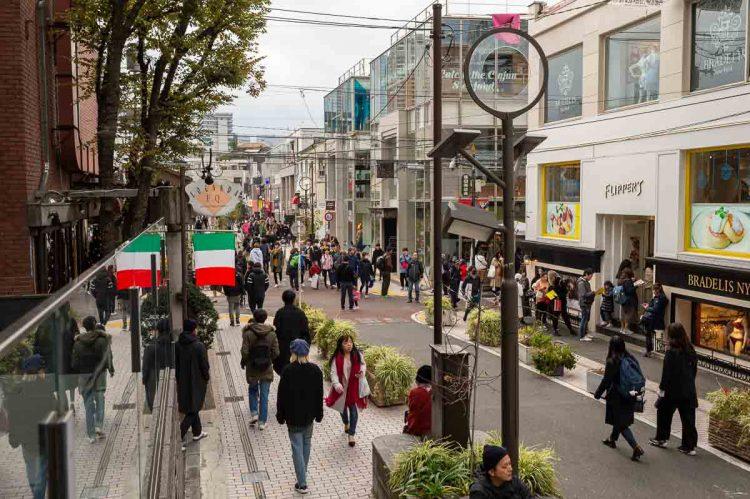 Cat Street via Japan Visitor
