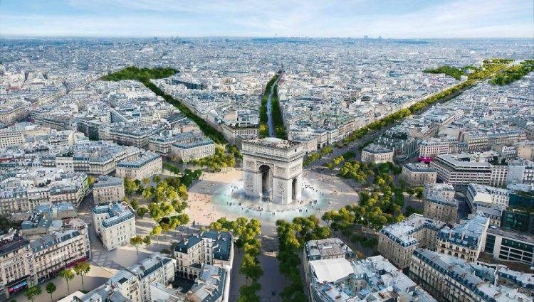Champs-Élysées via Lonelyplanet