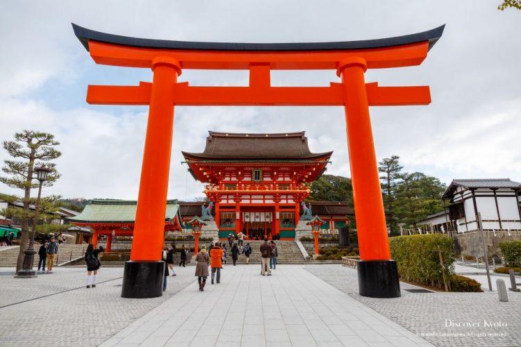 Fushimi Inari Taisha Kyoto via Discoverkyoto