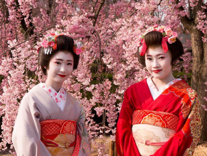 Geisha Kyoto via Wattention