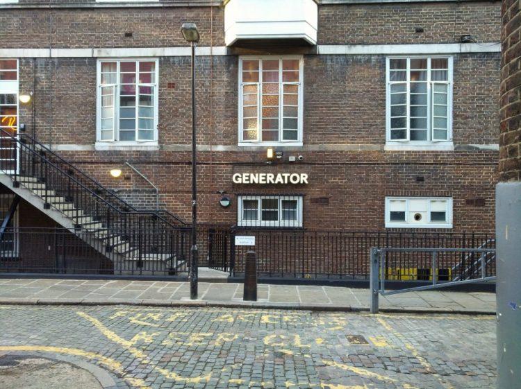 Generator Hostel London via Wikimedia