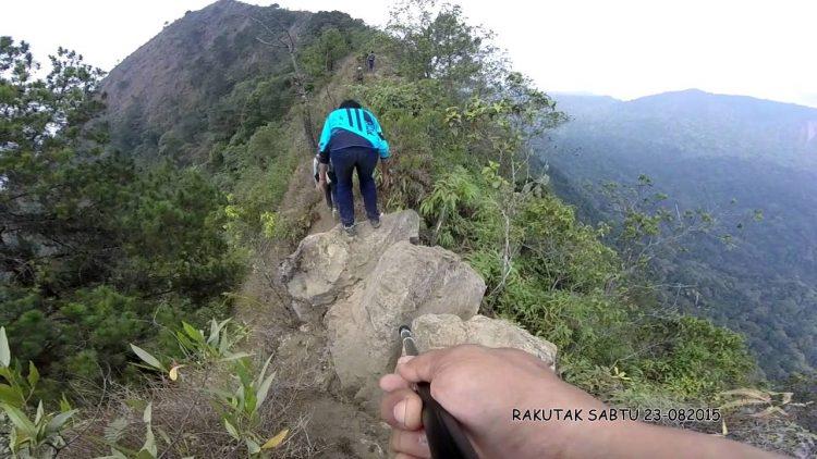 Gunung Rakutak via Youtube