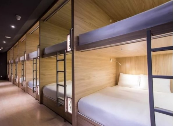 H-Ostel Bali, Hotel Kapsul Baru di Kuta yang Siap Mencuri Hati Kalian