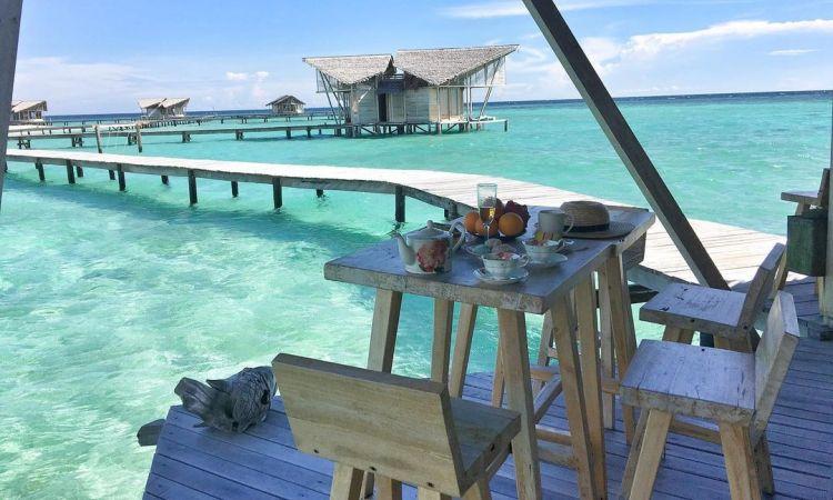 Honeymoon di Resort Pulo Cinta - Wisata Indonesia Mirip Maldives