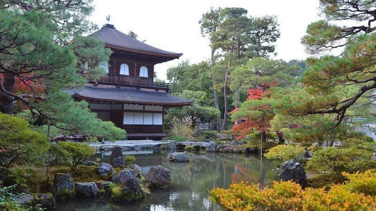 Jisho-ji via Japan Guide