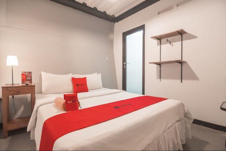 Kamar Tidur Rumah Kiboku Bed & Breakfast via RedDoorz.