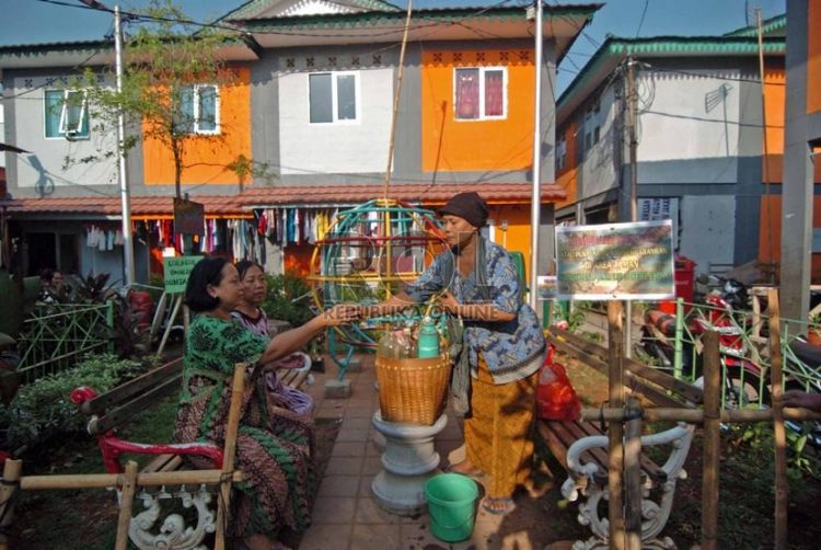 Kampung Deret via Republika
