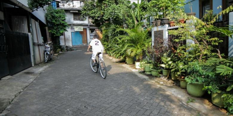 Kampung Percontohan Banjarsari via Kompas