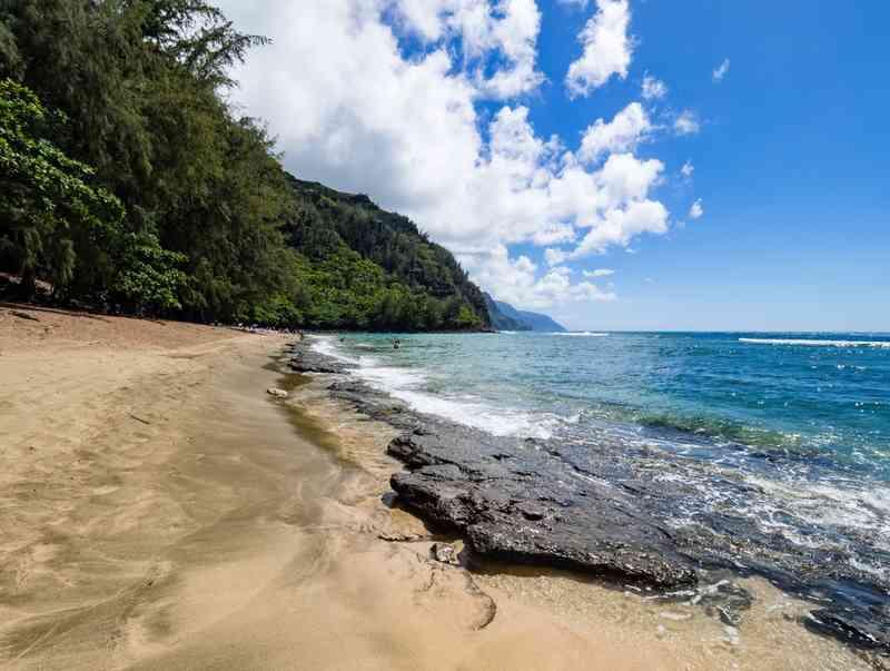 Kauapea Beach via Shutterstock