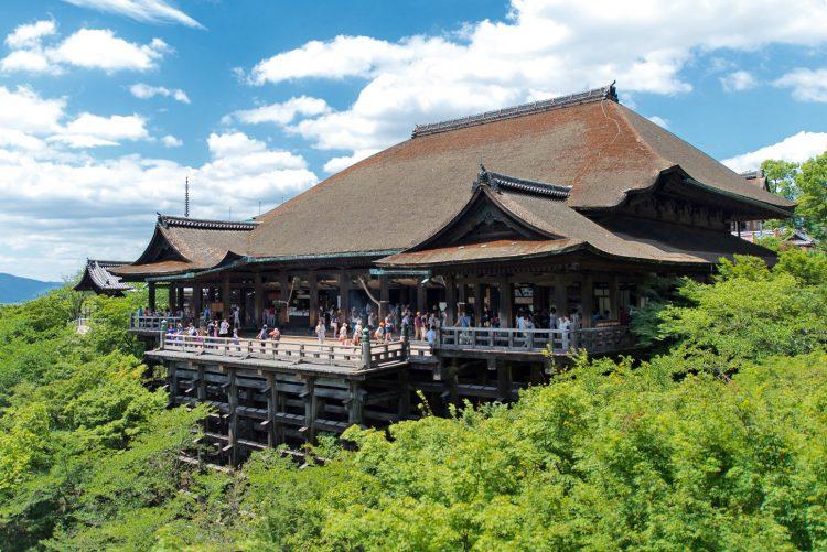 Kiyomizudera Kyoto via Wikipedia