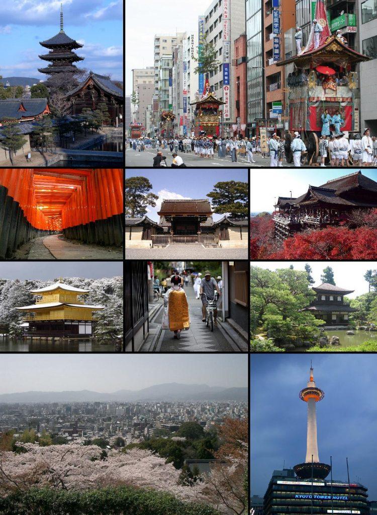 Kyoto via Wikipedia - Tempat Wisata di Kyoto