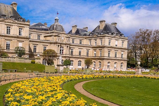 Luxembourg Gardens via Juliasalbum