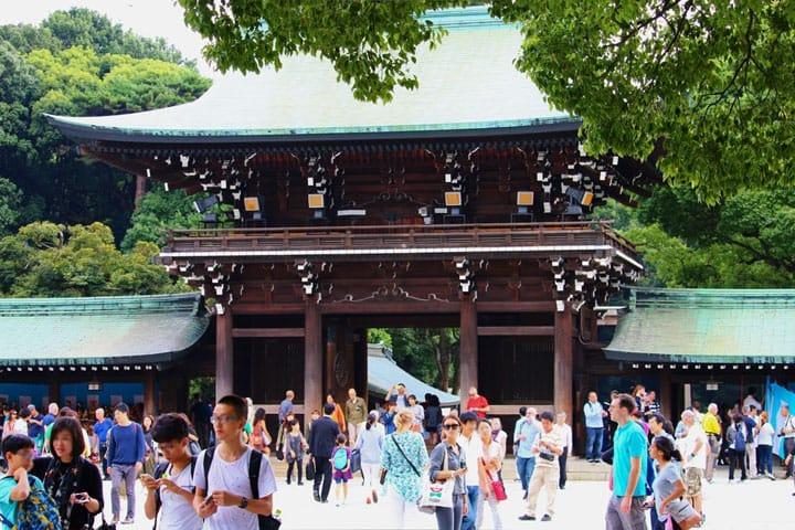 Meiji-jingu via Matcha-Jp