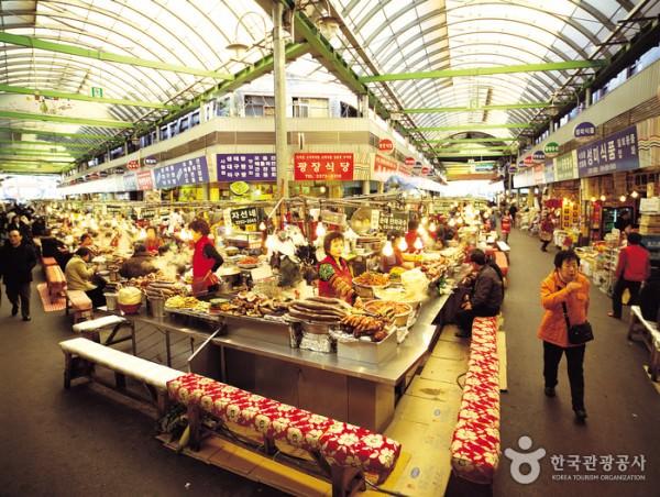 Mengunjungi Gwangjang Market