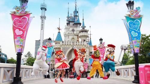 Mengunjungi Lotte World via Sunburstadventure