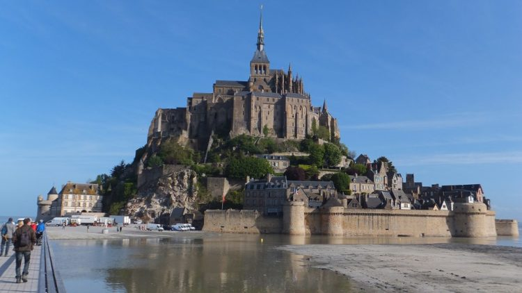 Mont Saint-Michel via Pixabay