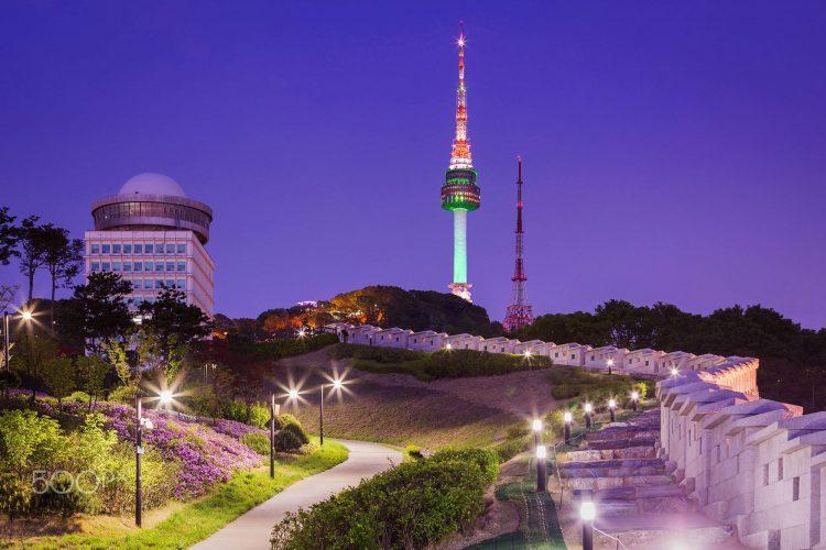 Namsan Park via Pinterest
