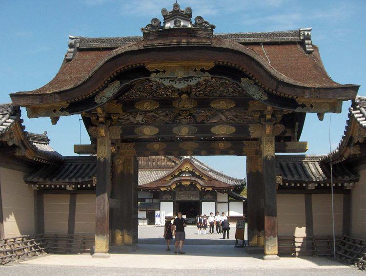Nijo Castle via Wikipedia