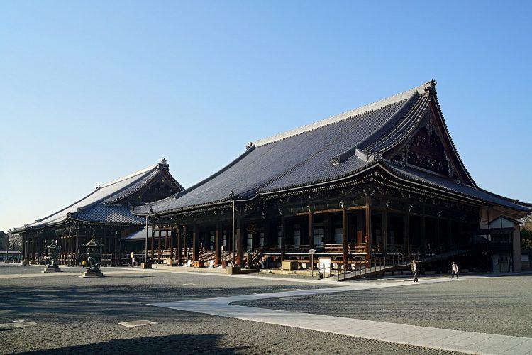 Nishi Hongan-ji via Wikipedia