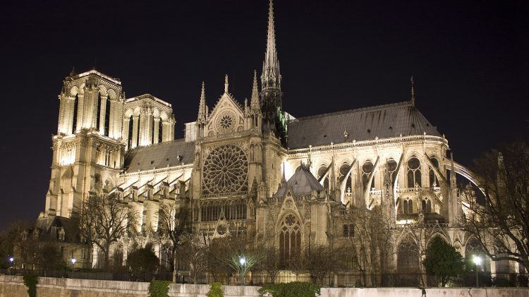 Notre-Dame Cathedral via Mentalfloss