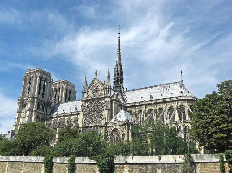 Notre Dame de Paris via Wikipedia