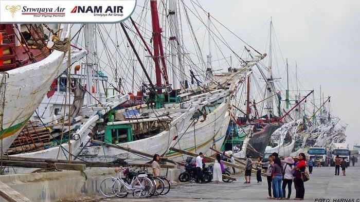 Pelabuhan Sunda Kelapa Foto Sriwijaya Air