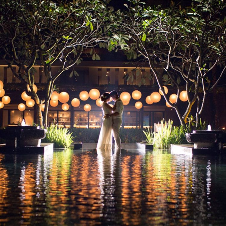 Pernikahan di Alila Villas Soori Foto by @onethreeonefour_weddings