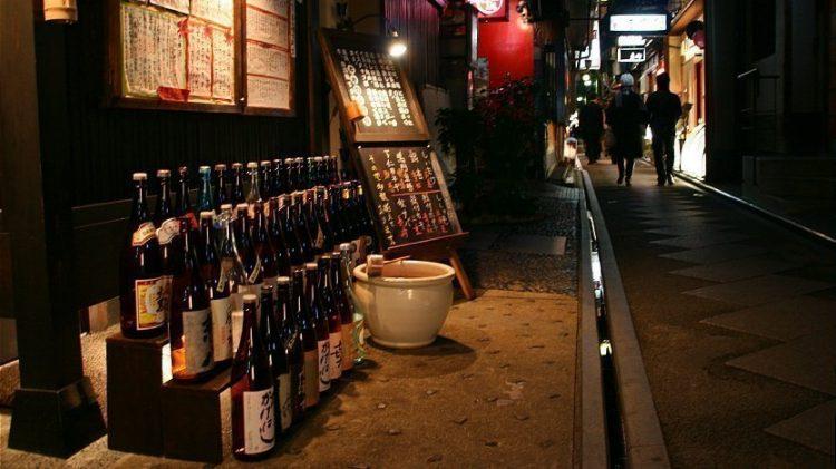 Pontocho via Japan Guide