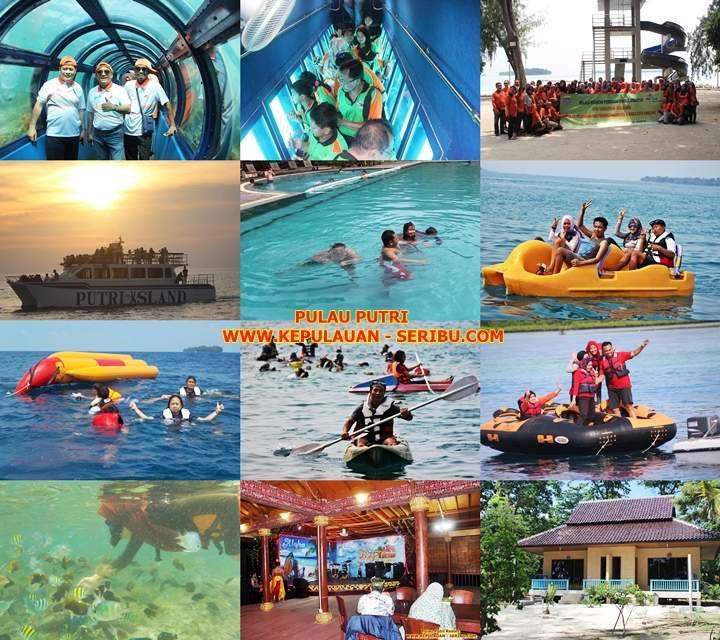 Pulau Putri via Kepulauan Seribu
