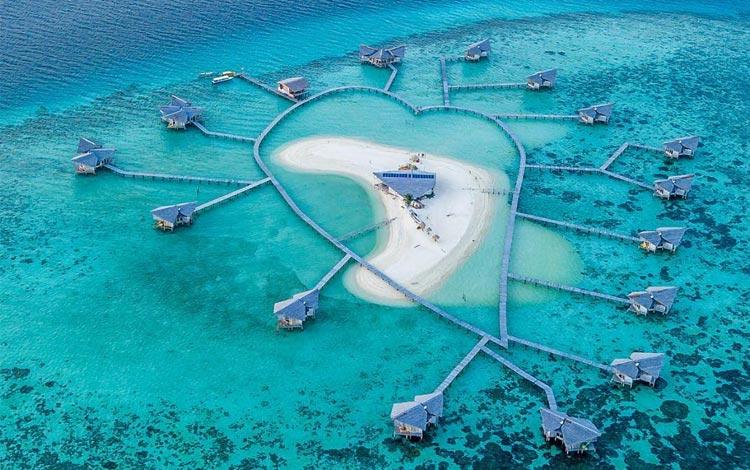 Pulo Cinta - Wisata Indonesia Mirip Maldives