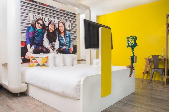 Qbic London City Cozy Room via Tripadvisor