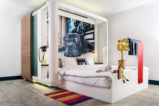 Qbic London City Smart Room via Tripadvisor