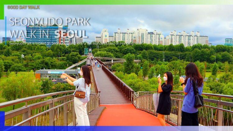 Relaksasi sambil belajar di Seonyudo Hangang Park via Youtube