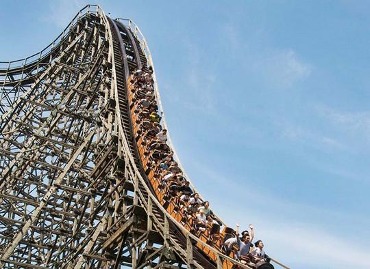 Roller coaster T Express di Everland