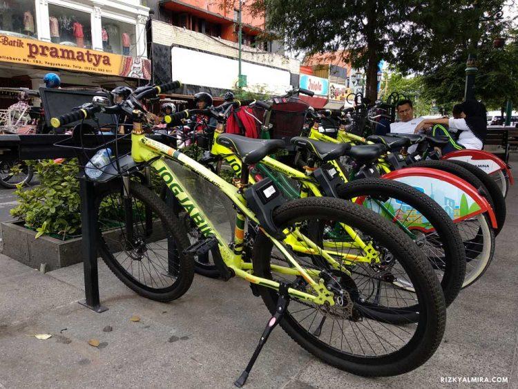 Sewa Sepeda JogjaBike di Maliboro via Rizkyalmira