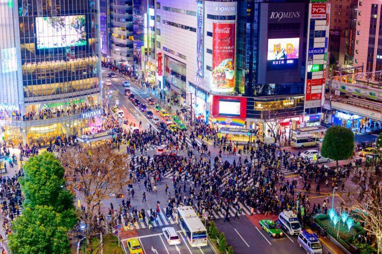 Shibuya Crossing via Japan Travel