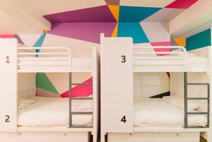 Suasana Kamar di Generator Hostel London via Budgetplaces