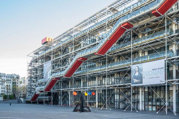 The Centre Pompidou via Cntraveler