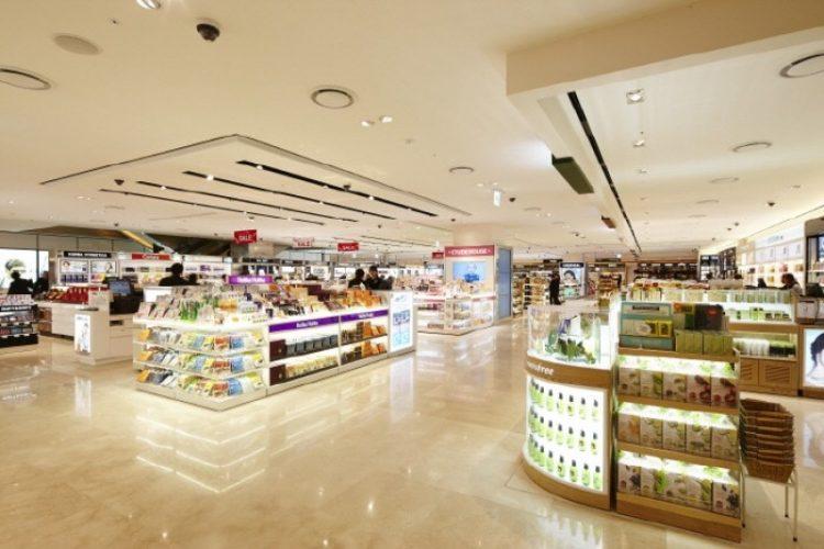 The Shilla Duty Free Shop via Trippose
